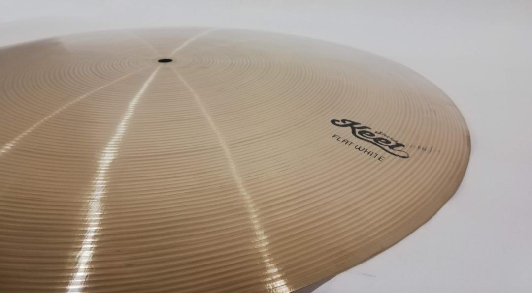 Shirai Keet Acoustic Cymbals FLAT WHITE